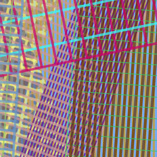 an example of the stripe grid raster generator image