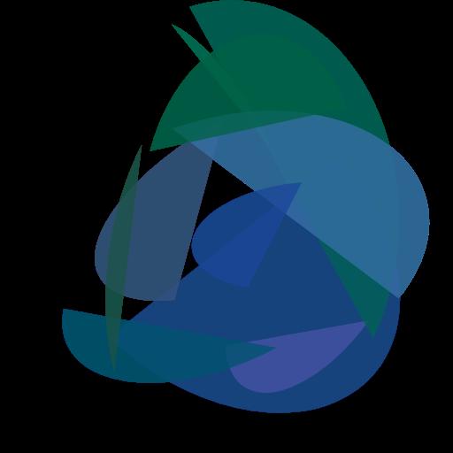 example 3 bird like blue